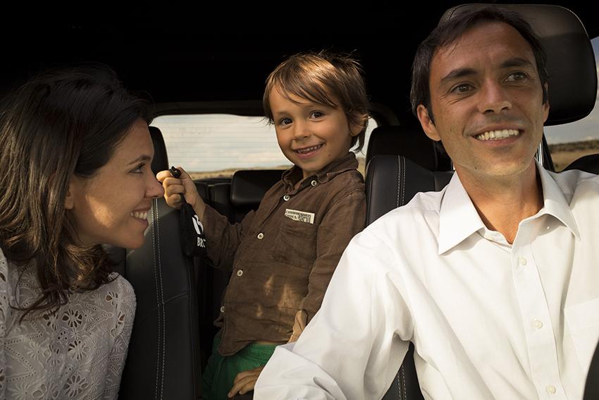 viaggio on the road con bambini piccoli