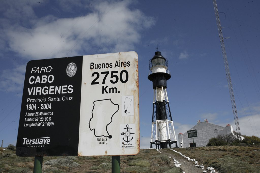 Faro di Cabo Virgenes patagonia