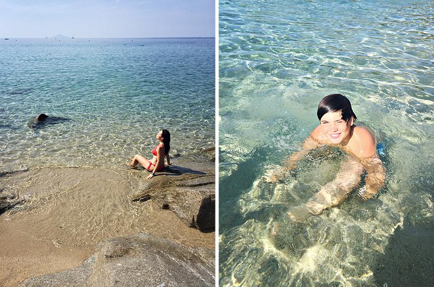 spiaggia di Cavoli isola d'Elba