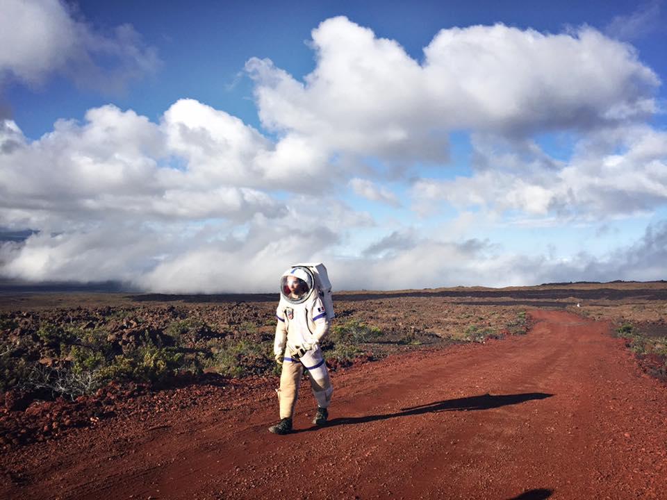 viaggio alle Hawaii simulazione Nasa Marte