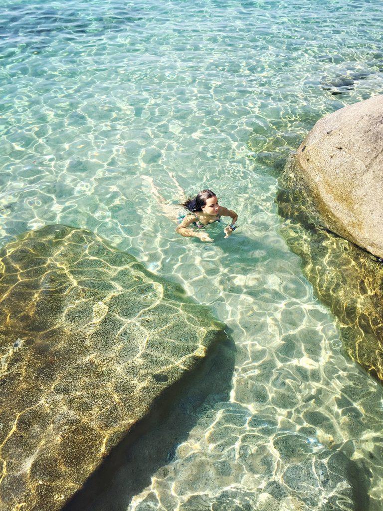 vacanze all'isola d'Elba. Spiaggia di Cavoli