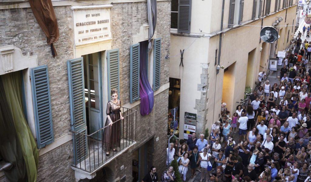 concerti dal balcone a Casa Rossini