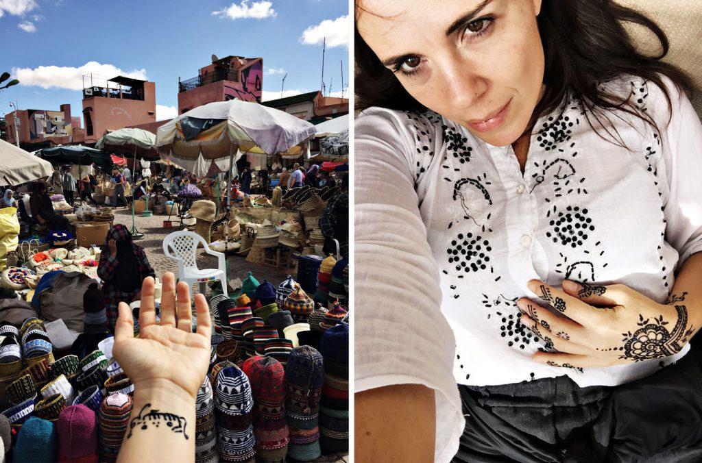 cosa vedere a marrakech hennè