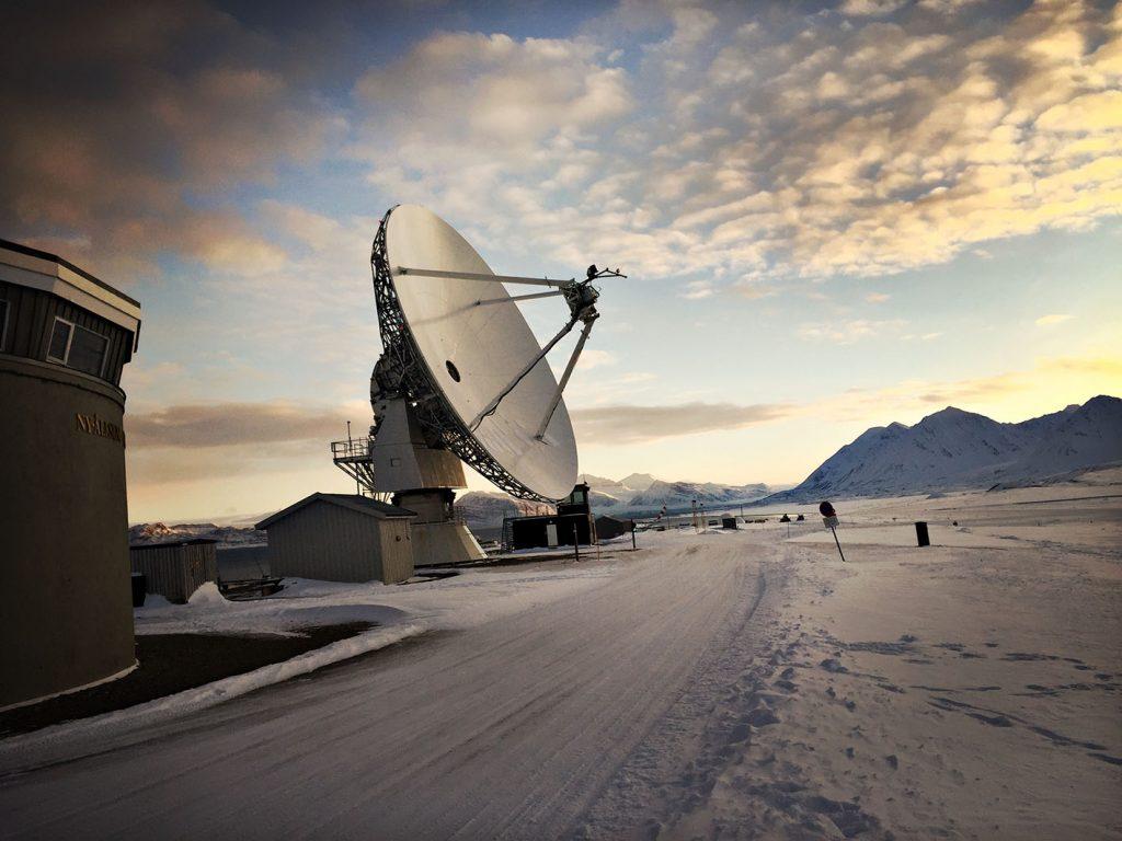 antenna Ny.Alesund viaggio al polo nord