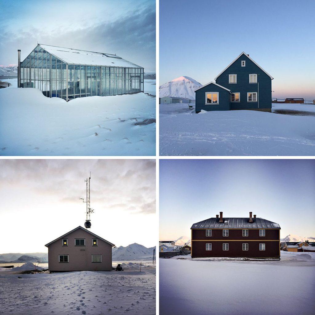 viaggio al polo nord case a Ny-Alesund