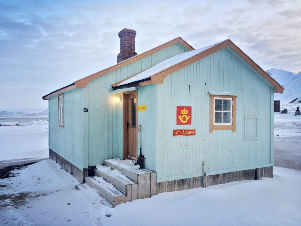 ufficio postale viaggio al polo nord