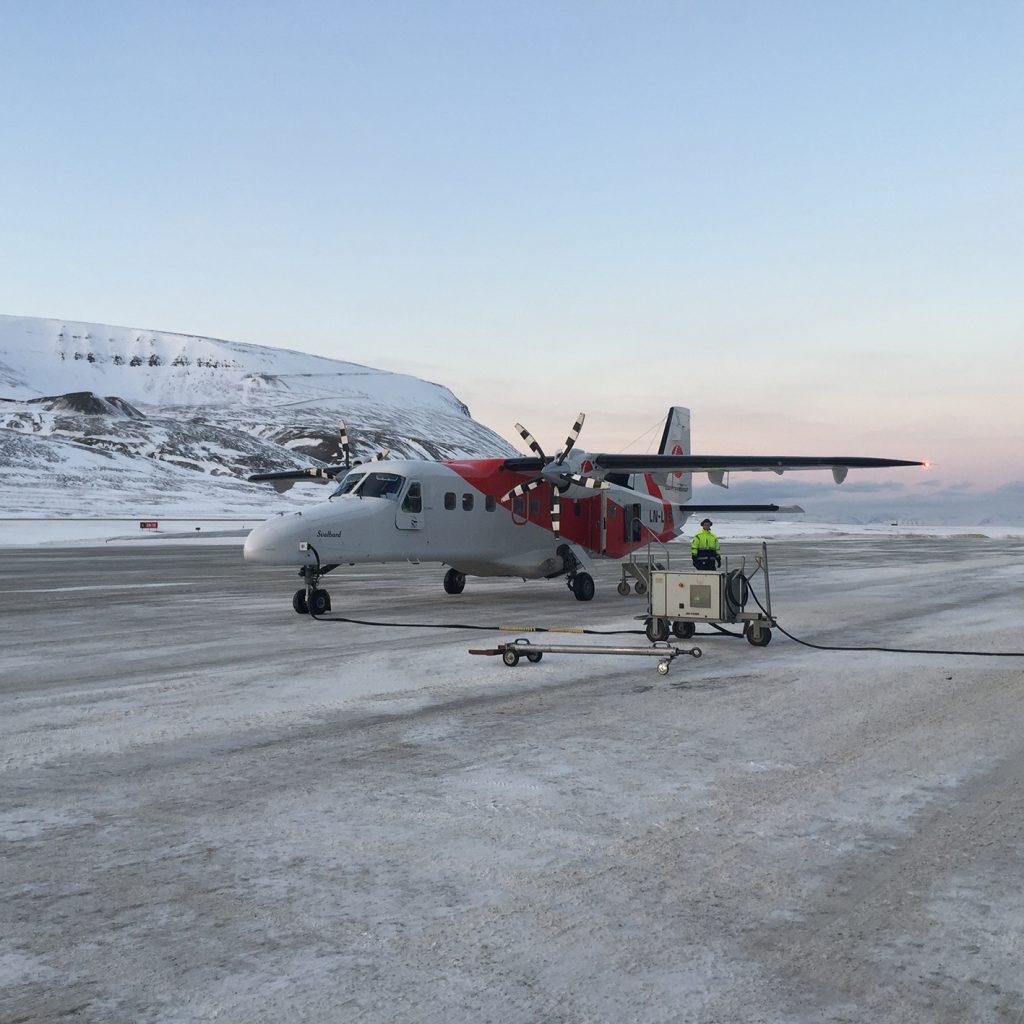 viaggio al polo nord aereo Ny-Alesund
