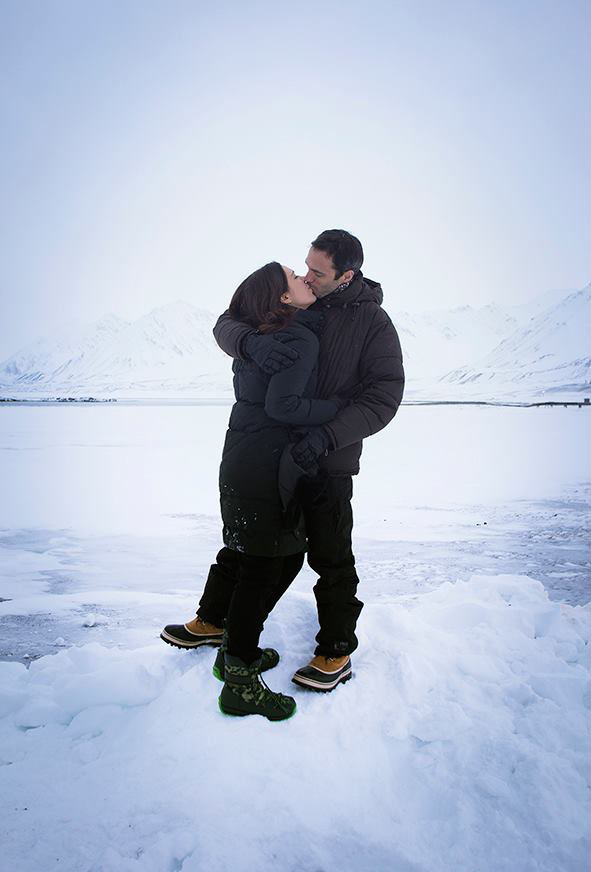 viaggio al polo nord bacio
