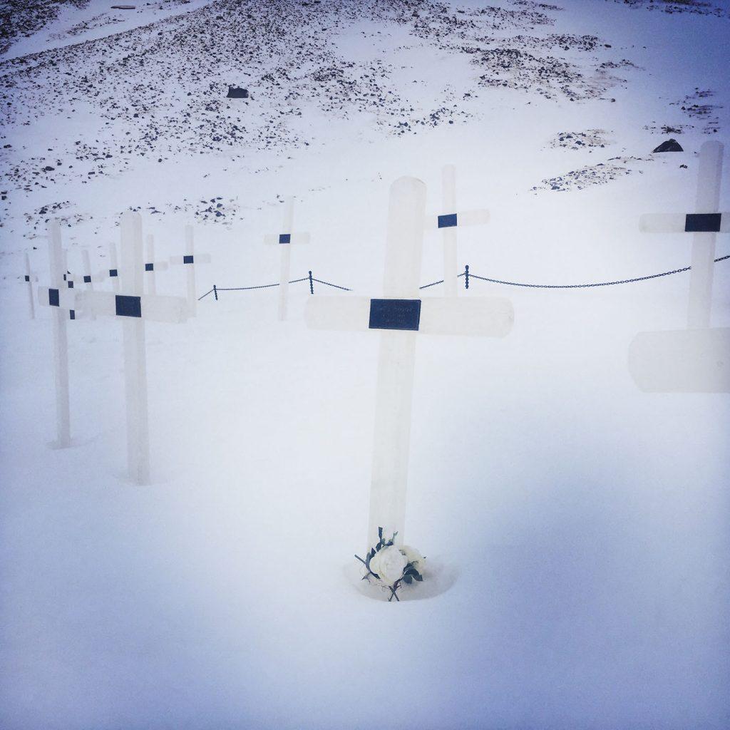 viaggio al polo nord cimitero longyearbyen