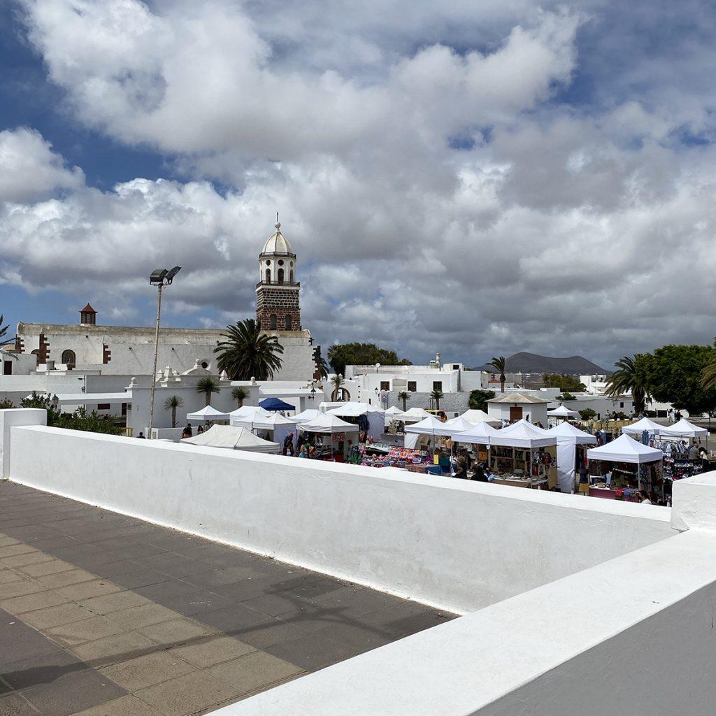 cosa vedere a Lanzarote mercato di Teguise