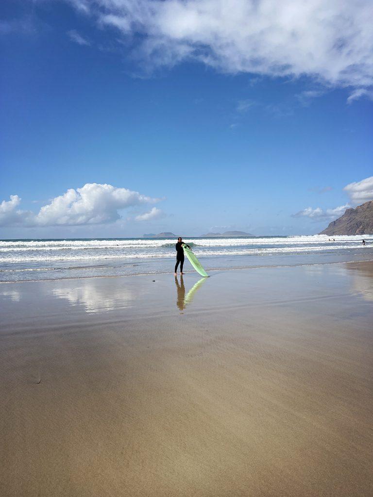 cosa vedere a Lanzarote playa Famara