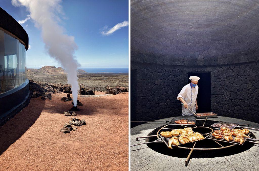 cosa vedere a Lanzarote vulcano timanfaya montagna del fuego